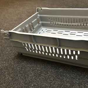 Plastic injection mould tooling for materials handling